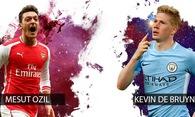 Ozil hay De Bruyne sẽ là vua kiến tạo ở chung kết Cúp Liên đoàn Anh?