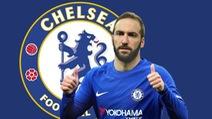 Higuain là mục tiêu chuyển nhượng trong công cuộc tái thiết Chelsea của HLV Sarri?