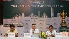 """Diễn viên Việt Anh, danh thủ Hồng Sơn """"mở màn"""" giải golf Chervo Vietnam Open Championship 2018"""