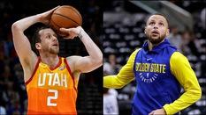 """Xạ thủ Utah Jazz tuyên bố mình là tay ném khủng nhất NBA, Stephen Curry """"phản damage"""" ngay lập tức"""