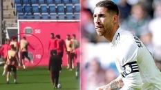 Sự cố gây sốc trên sân tập Real Madrid: Sergio Ramos cay cú trả đũa đàn em