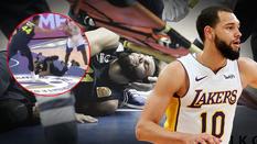 Cựu cầu thủ LA Lakers chấn thương đáng sợ, cả cộng đồng bóng rổ cầu nguyện cho anh