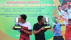 Vé đặc cách đưa Hoàng Nam và Quốc Khánh vô địch Vietnam F4 Futures 2018