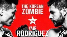 TR?C TI?P UFC Fight Night 139: Korean Zombie vs. Yair Rodríguez