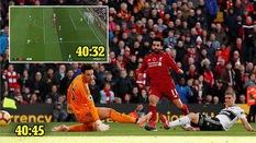 Salah ?ã ghi bàn ch?p nhoáng cho Liverpool theo cách khó tin th? nào?