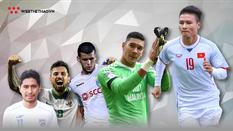 Infographic: Các ngôi sao ĐT Việt Nam ở đâu trong Top 10 cầu thủ đắt giá nhất AFF Suzuki Cup 2018?
