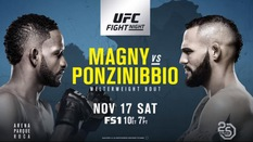 TRỰC TIẾP UFC Fight Night 140: Neil Magny vs. Santiago Ponzinibbio