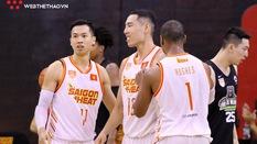 Trevon Hughes và Sang Đinh xuất sắc mang về chiến thắng nghẹt thở cho Saigon Heat trước Macau Black Bears