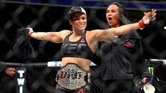 Amanda Nunes bảo vệ đai thành công, Jacare để thua trên sân nhà