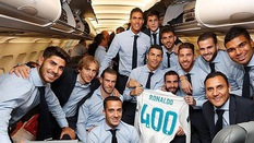 """Real Madrid lỡ """"chuyến bay bùa may"""" cho chức vô địch Champions League"""