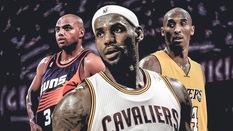 Phong độ của LeBron James và các huyền thoại NBA ở mùa giải thứ 15