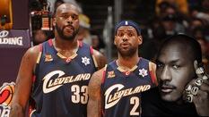"""Shaquille O'Neal: Mặc kệ bị so sánh với Jordan, LeBron James nên ngừng cuộc chiến """"săn nhẫn"""" lại"""