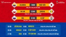 Nhận định tỷ lệ cược World Cup 2018 mới nhất ngày 19/06