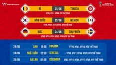 Nhận định tỷ lệ cược World Cup 2018 mới nhất ngày 23/06