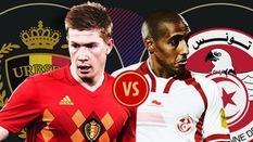 Link xem trực tiếp trận Bỉ - Tunisia ở World Cup 2018
