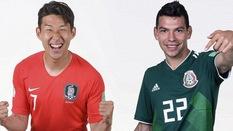 Link xem trực tiếp trận Hàn Quốc - Mexico ở World Cup 2018