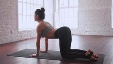 5 t? th? Yoga d? t?p giúp gi?m ?au l?ng và stress