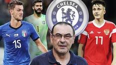 Maurizio Sarri dắt theo Jorginho tới Chelsea và tính mua thêm 3 tân binh