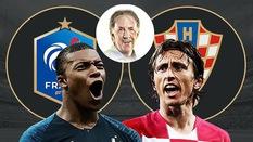 Chuyên gia Mark Lawrenson dự đoán trận chung kết World Cup 2018 Pháp - Croatia