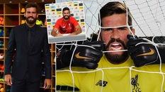 """Tiết lộ người """"lôi kéo"""" thủ môn đắt giá nhất thế giới Alisson đến Liverpool"""
