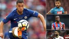 Chelsea nhắm tới 7 ứng cử viên thay thế tiềm năng nếu Eden Hazard sang Real