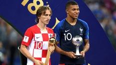 Mbappe chọn... chính mình và gạch tên Messi cùng Griezmann ở giải Quả bóng Vàng