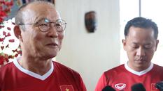 HLV Park Hang Seo bật cười với phát biểu của HLV Olympic Nepal