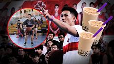 Thi ném 3 điểm với chàng trai sinh viên RMIT, suýt chút nữa Tô Quang Trung đã mất mấy chục ly trà sữa