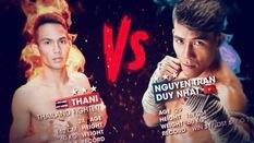 Nguyễn Trần Duy Nhất thử sức với võ sĩ Thái Lan ở Muay Thai Fight Night