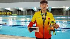 Kình ngư 18 tuổi Nguyễn Huy Hoàng phá KLQG giành HCĐ ASIAD 2018 800m tự do