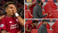 """Vì sao Mo Salah """"phản ứng lạ"""" sau khi Firmino ghi bàn quyết định giúp Liverpool hạ PSG?"""