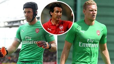 HLV Emery úp mở cách chọn lựa thủ môn số 1 Arsenal sau phản ứng giận dữ của Leno