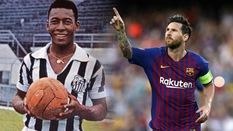 """Duyên sân nhà Camp Nou sẽ giúp Messi áp sát kỷ lục của """"Vua bóng đá"""" Pele"""