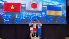 Lê Thanh Tùng giành HCB Cúp TDDC thế giới