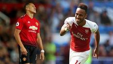 """""""Thủ lĩnh"""" Aubameyang giúp CĐV Arsenal xoa tay hài lòng khi nhìn sang... Alexis Sanchez"""