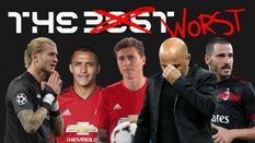 """Sau FIFA The Best tờ Marca công bố những ngôi sao ẵm giải... tệ nhất - """"The Worst"""" 2018"""