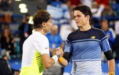 Milos Raonic nghỉ Roland Garros, Nadal là hạt giống số 1