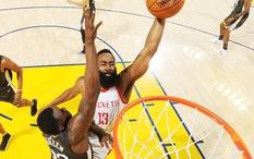 """James Harden """"úp vỡ đầu"""" Draymond, cũng như Rockets """"đánh sập"""" Golden State, chuyện gì đã xảy ra vậy?"""