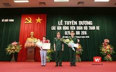 Bộ Quốc phòng vinh danh và thưởng Hoàng Xuân Vinh 50 triệu đồng