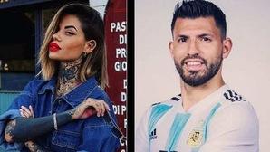 Lộ danh tính người đẹp xăm trổ hẹn hò với Aguero