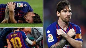 Kỷ lục, chấn thương của Messi và top 5 điểm nhấn đáng chú ý ở trận thắng Sevilla của Barca