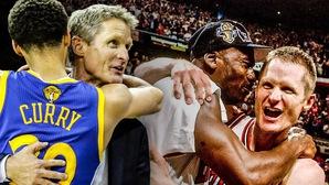 NBA đừng vội mừng, Michael Jordan từng đấm tóe máu Steve Kerr nhưng Bulls vẫn là bá chủ
