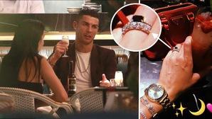 Rộ tin đồn Ronaldo chuẩn bị lên xe hoa sau khi lộ nhẫn cưới
