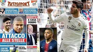 Tin bóng đá ngày 19/11: Juventus tính đưa bộ đôi sao tấn công về chơi cùng Ronaldo