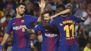 Choáng với thống kê tầm ảnh hưởng của đinh ba MSD với thành công của Barca