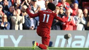 """Luis Garcia giải thích tại sao Salah """"nín cười"""" sau khi ghi bàn cho Liverpool?"""