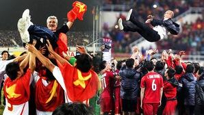 Infographic: So sánh hành trình vô địch AFF Cup 2008 và 2018 của đội tuyển Việt Nam