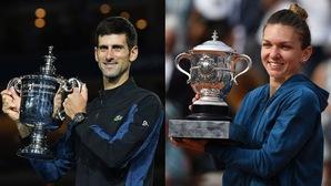 Djokovic và Halep giành danh hiệu vô địch thế giới 2018