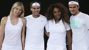 Sốc với số tiền những siêu sao tennis kiếm được từ nhà tài trợ Nike