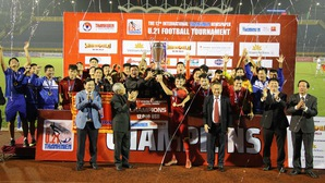Trước khi lên tuyển Việt Nam, 4 tân binh của ông Park đoạt chức vô địch U21 Quốc tế 2018